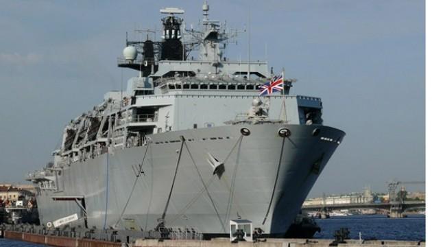 Британія направить п'ять кораблів у Балтійське море