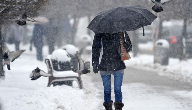 Deterioration of weather conditions expected in Ukraine on Jan. 21-23