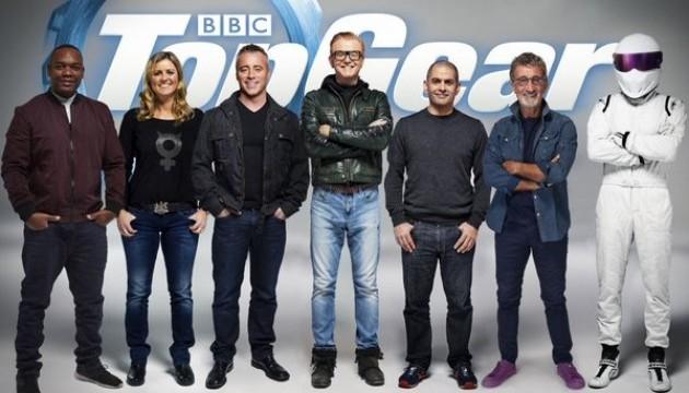 В Top Gear буде шість ведучих
