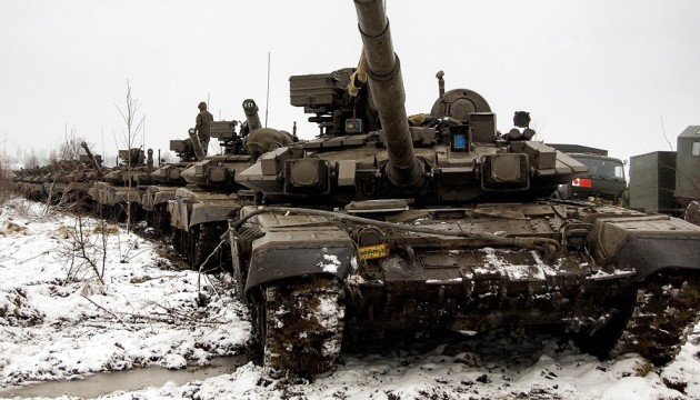Росія стягує війська до кордону з Україною - РНБО