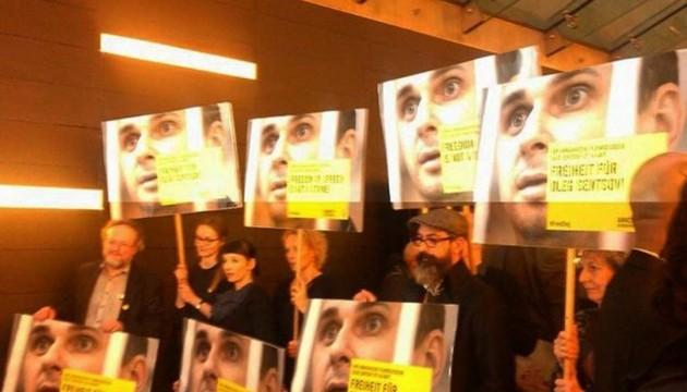 На Берлинале провели акцию в поддержку Сенцова