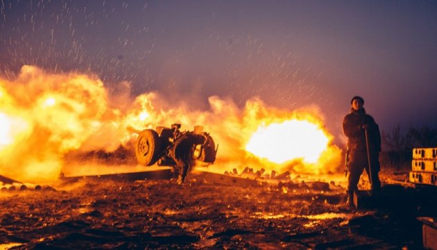 Militants continue shelling ATO troops in eastern Ukraine