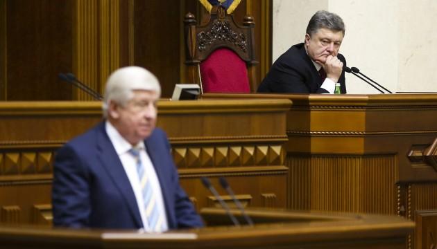 Kutsenko: Prosecutor General Shokin still on vacation