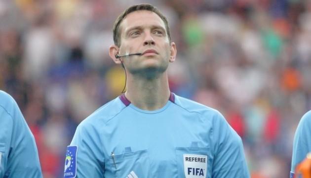 Украинская бригада арбитров проведет матч Лиги Европы УЕФА