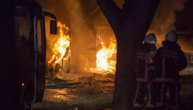 Появилось видео теракта в Анкаре