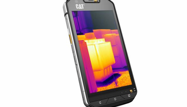 Caterpilar выпустила первый смартфон с тепловизором