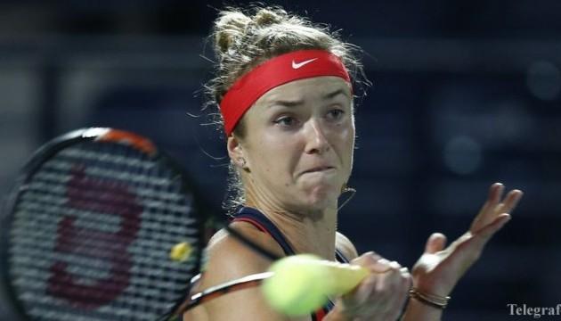 Свитолина вышла в полуфинал престижного турнира в ОАЭ
