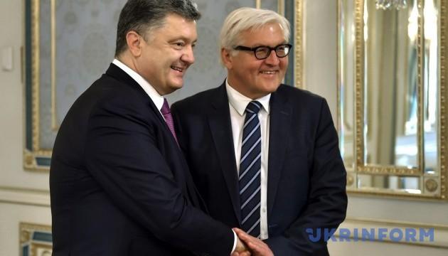 ?Український посол анонсував візит Штайнмаєра до Києва