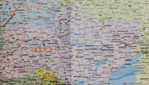 Поляки выдали карту с российским Крымом. Украина протестует
