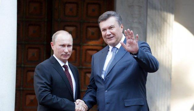 У Кремлі визнали, що Путін контролює дії Януковича