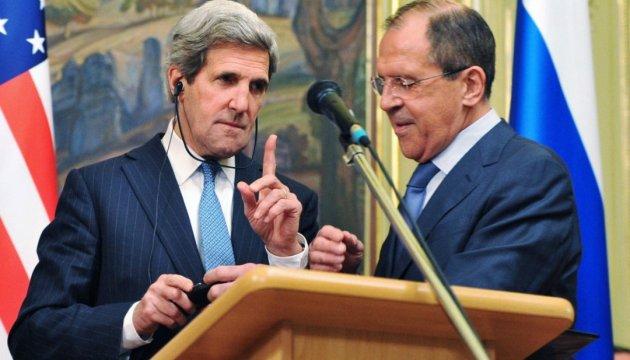 Керри напомнил Лаврову об Украине. Поговорили также о Карабахе и Сирии