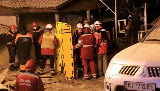 Обвал дома на Хмельницкого: прорабу объявили подозрение