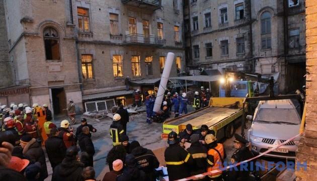 Обвал будинку на Хмельницького: поліція завершила розслідування