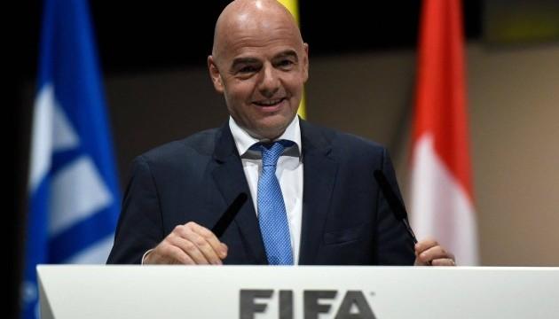Швейцарська прокуратура відкрила справу на президента ФІФА Інфантіно