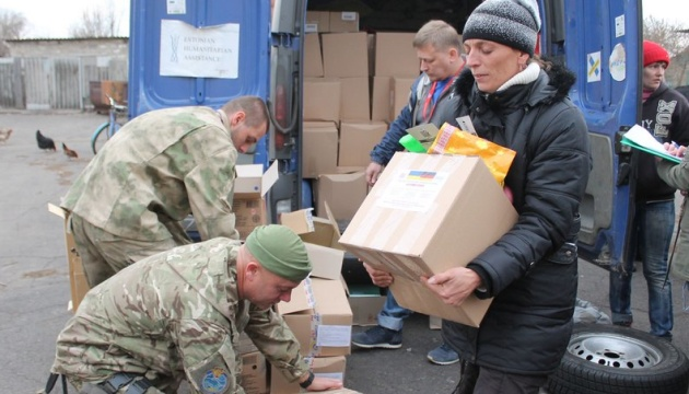 Austria sends six tons of humanitarian aid to Mariupol
