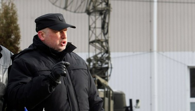 Turchynov informs Duda on violations of security state in eastern Ukraine