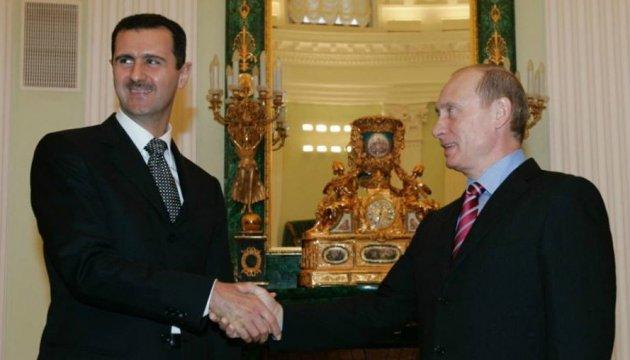 Ukrainian President: Assad and Putin cause main global security challenges