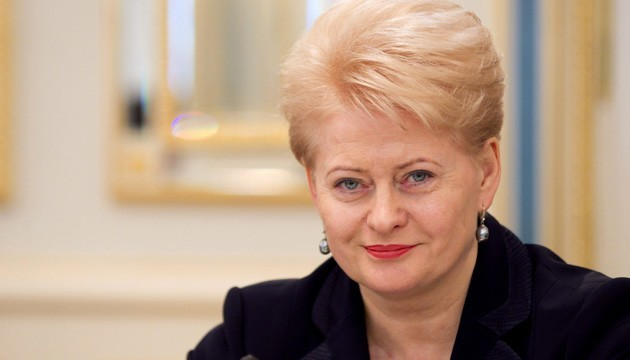 Грібаускайте про Крим: Свободу можна окупувати, але неможливо відібрати