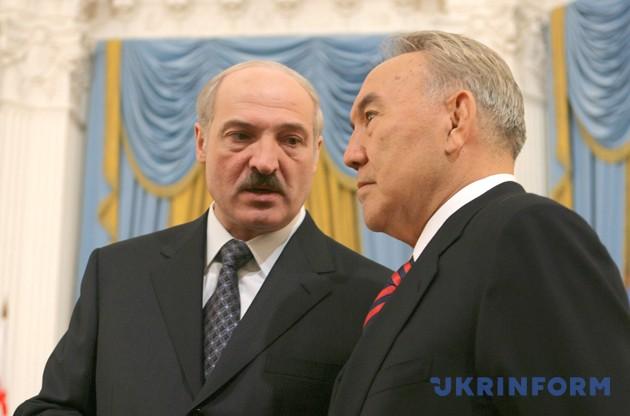 Лукашенко, Назарбаев