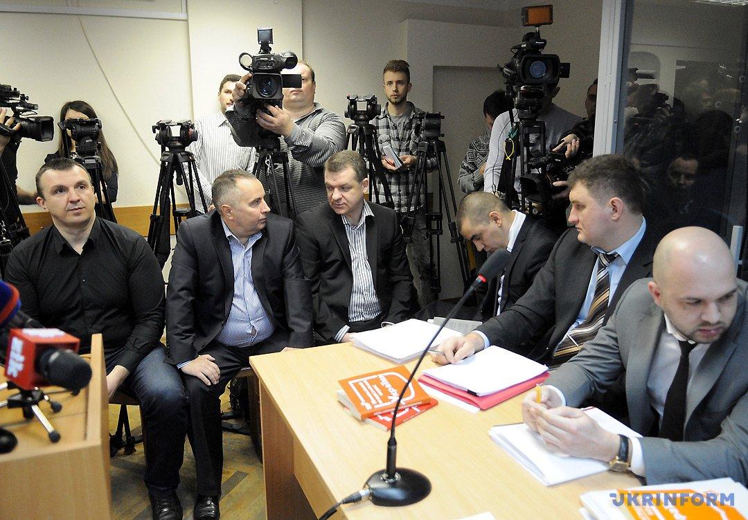 Валерій Гібаленко, Олександр Корнієць,  Володимир Шапакін  (зліва направо). Фото: Данііл Шамкін