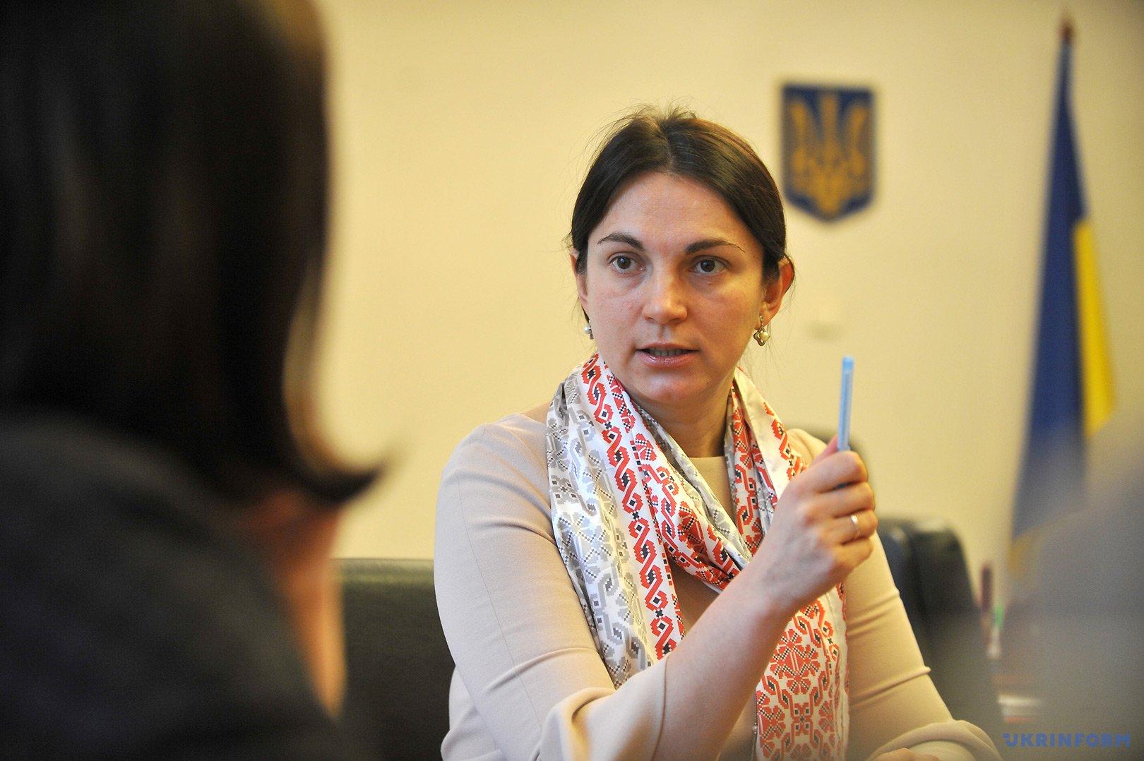Ганна Гопко, голова Комітету Верховної Ради України у закордонних справах