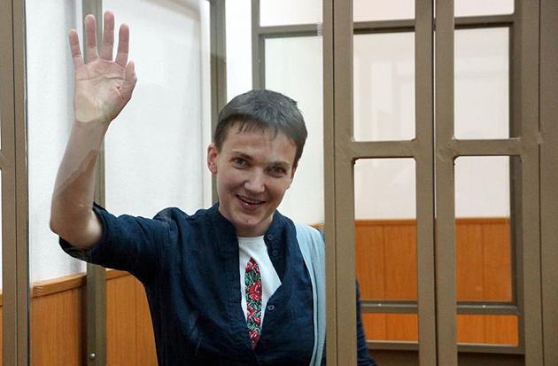 Надія Савченко Фото: Антон Наумлюк