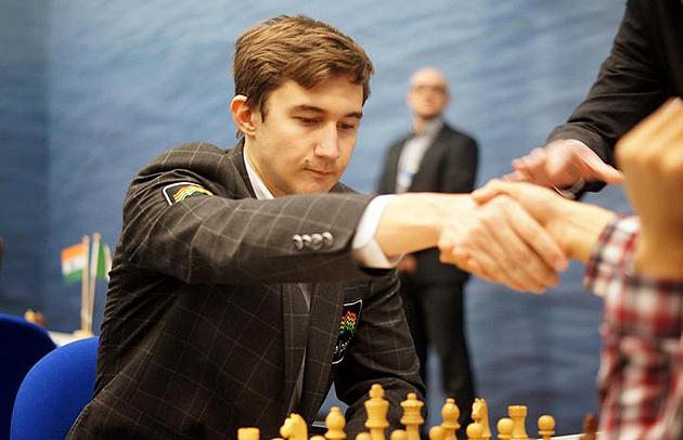 Сергій Карякін. Фото: chess-db.com