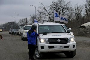 Invaders continue to restrict freedom of movement of OSCE observers in Donbas