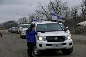Оккупанты уже неделю блокируют доступ ОБСЕ на участок разведения под Петровским