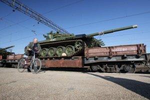 РФ активно постачає на Донбас зброю і боєприпаси залізницею