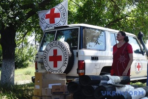 Red Cross sends over 18 tonnes of building materials to occupied Donbas