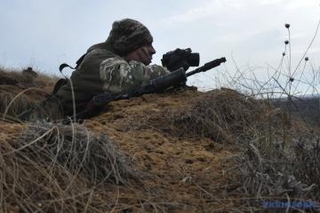 Donbass est à nouveau sous le feu de mortiers et de véhicules de combat d'infanterie ennemis
