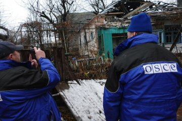 OSCE records 56 ceasefire violations in Donbas over past 24 hours