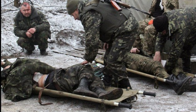 Three Ukrainian soldiers wounded in Donbas in last day