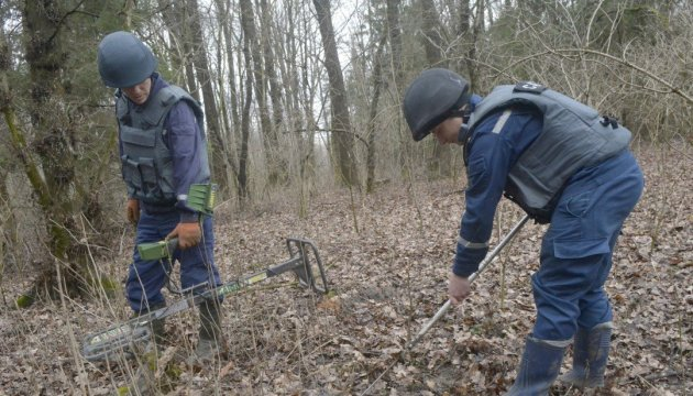 Ukrainian Defense Ministry reports on mine clearance in Donbas