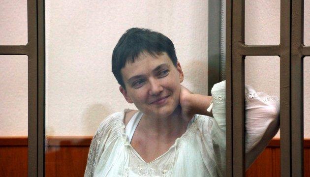 Тюремники зробили Савченко подарунок - пропустили до неї консулів