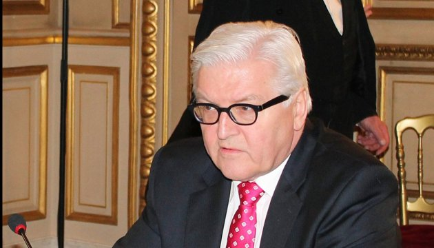 Steinmeier: Germany will not recognize legitimacy of Russia's annexation of Crimea