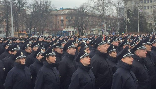 Patrol police in Poltava launched