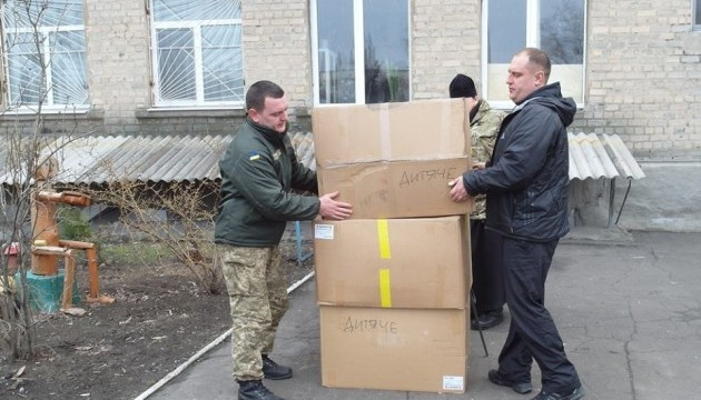 IOM sends 51 tonnes of humanitarian aid to occupied Donbas
