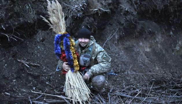 Бійці АТО привітали своїх коханих та всіх українок із 8 Березня