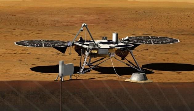 NASA відправить зонд InSight до Марса у травні 2018 року