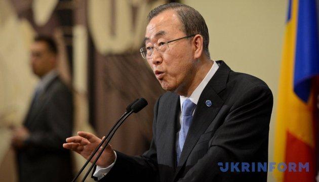 Пан Ги Мун назвал новые санкции против КНДР самыми жесткими за всю историю СБ ООН