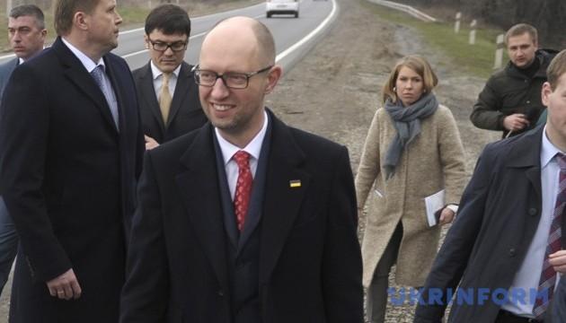 Yatsenyuk meets with delegation of Ukrainian World Congress