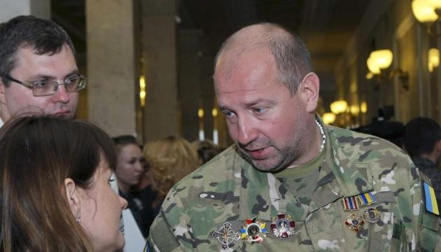 """Украинский консул прибыл к задержанному экс-командиру """"Айдара"""