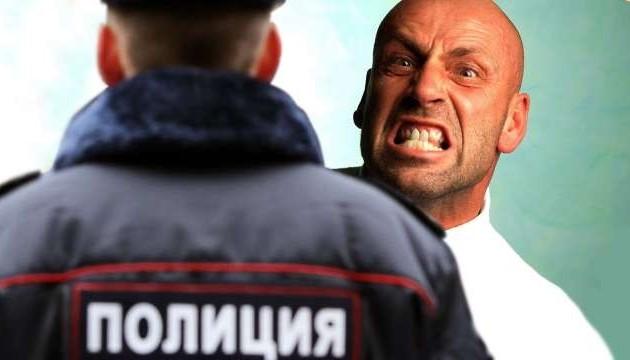 На Тернопольщине пьяный водитель покусал полицейского