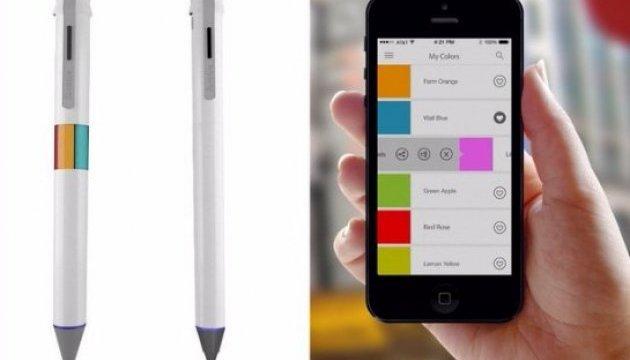 Створена «розумна» ручка, яка пише 16 мільйонами кольорів