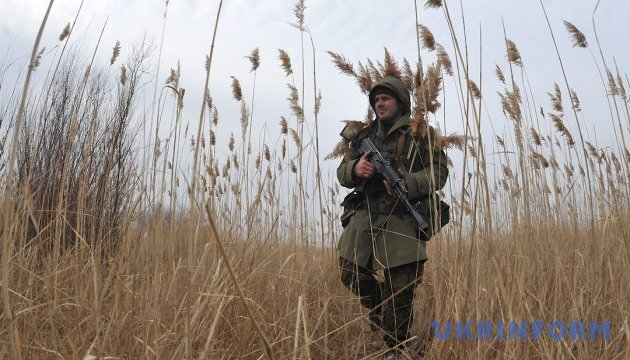 One Ukrainian soldier killed, ten wounded in ATO area
