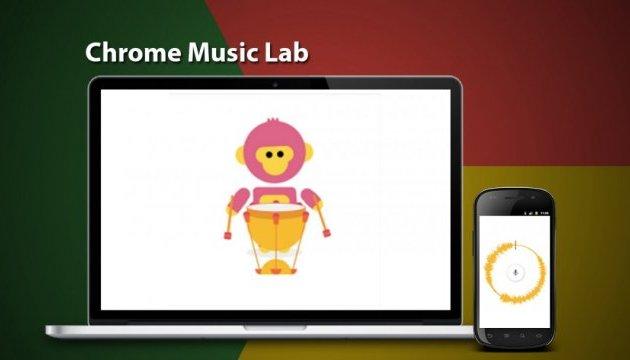 Google презентував музичний сервіс Chrome Music Lab