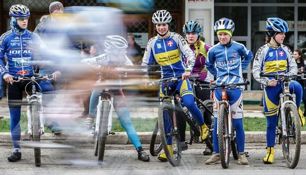"Charity cycling ride ""Ukrainians in Europe"" visits Lublin"
