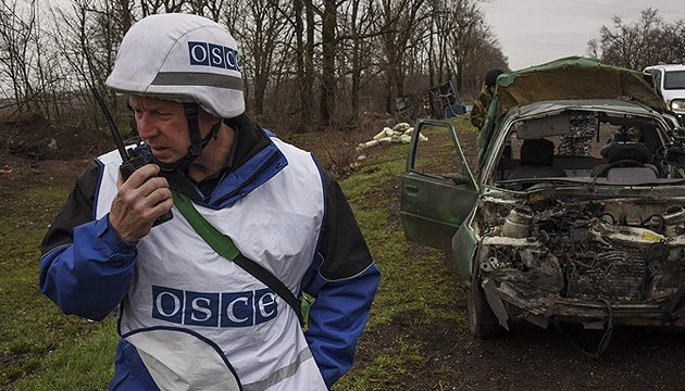 OSCE resumes patrolling in Donbas